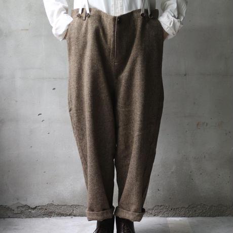 ALEKSANDR MANAMISアレクサンドルマナミス/ HERRINGBONE PANT SUSPENDERパンツ / am-21008