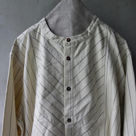 ALEKSANDR MANAMISアレクサンドルマナミス/ 1841 BIB SHIRTシャツ/ am-21013