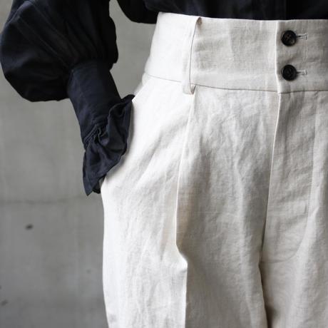 cavane キャヴァネ / tuck tapered pantsパンツ/ ca-19053