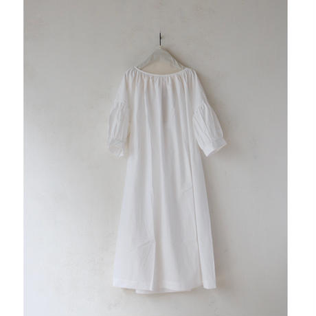 Bergfabel バーグファベル / Balloon dress cotton Balloon dress cottonバルーンドレス/ bfw-17001