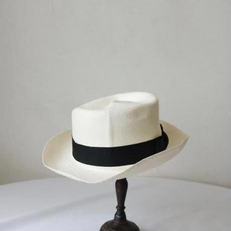 Olney オルニー /  帽子 panama hat (toquilla straw hat)  / ol-17000