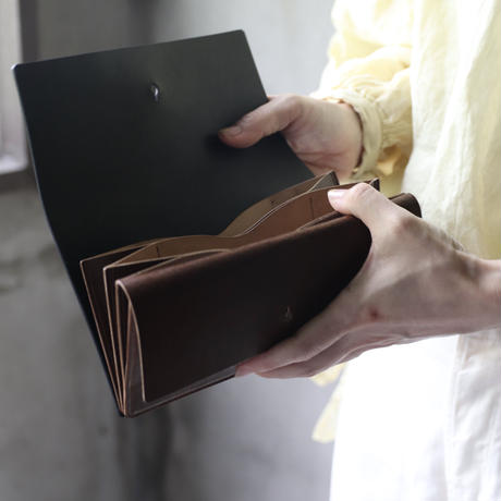 formeフォルメ / Liscio leather long wallet 長財布 /  fo-20025 ( fip-15 )