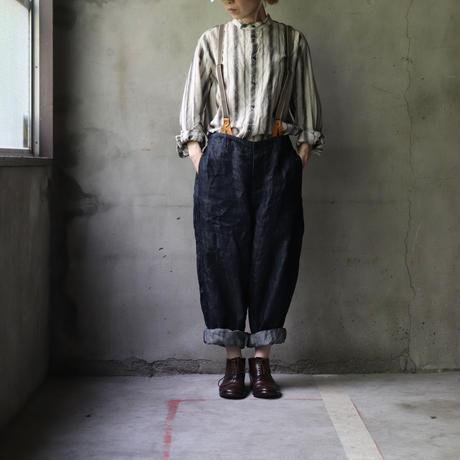cavane キャヴァネ / over pants with suspendersオーバーパンツ / ca-21050L