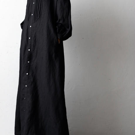 cavane キャヴァネ / Farmer pleated long dressファーマープリーツロングドレス  / ca-18003