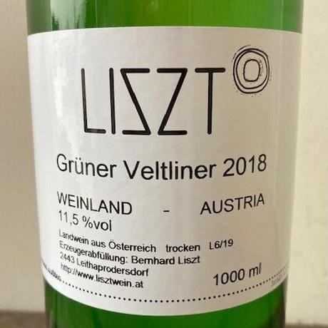 グリューナー・ヴェルトリーナー 2018 リスト/ Grüner Veltliner 2018 Liszt