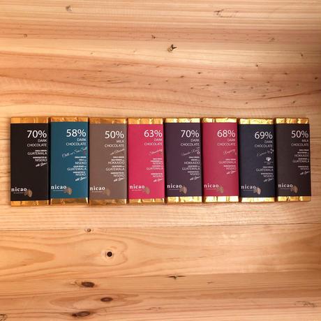 ニカオ 68% ラズベリーダークチョコレート /nicao Raspberry Dark Chocolate