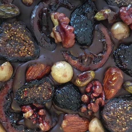 【限定商品】nicao × Cave de Bambou チョコレート バーク とワインのギフトセット