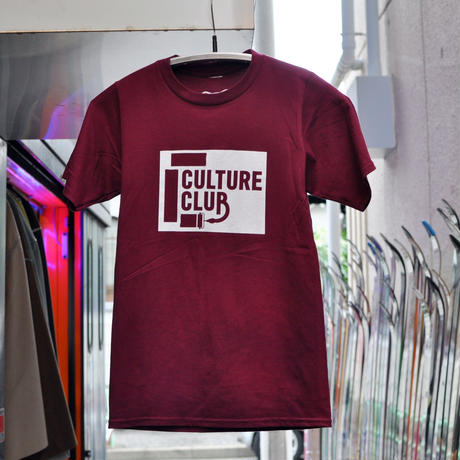Culture Club OG Logo T-shirt / Maroon