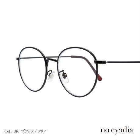 no eyedia+   NE-AF-003(伊達メガネ) 2color
