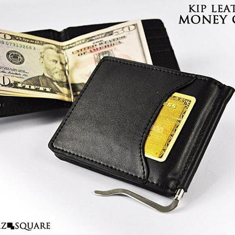 定形外郵便発送【BEAMZSQUAREビームズスクエア】レザー高級マネークリップ メンズ本革ブランド短財布カード入れ付bzsq555