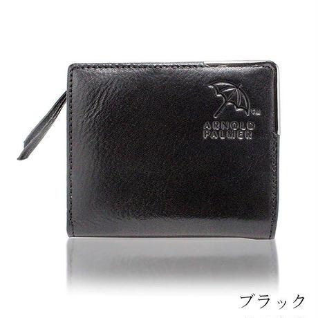 アーノルドパーマー イタリアンレザー 二つ折り財布 短財布 札入れ 本革 牛革メンズ レディース ブランド レザーウォレット4ap3190