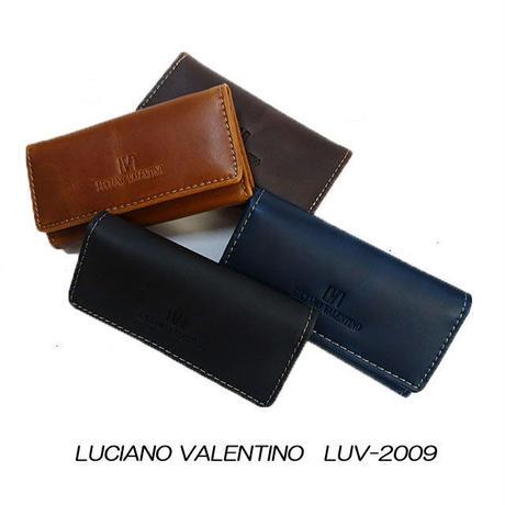 【LUCIANO VALENTINO】ルチアーノバレンチノ 牛革 レザー キーケース LUV2009
