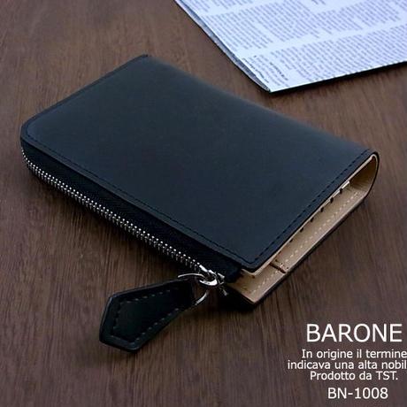 【定形外郵便発送】【BARONE バローネ】レザーキーケース キーホルダー 本革牛革bn1008