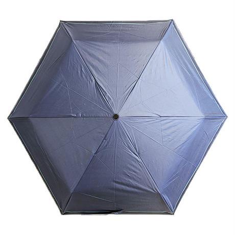 UPF50+ UVカット99.9% オールウェザーアンブレラ晴雨兼用 メンズ 男の日傘 紫外線カット99%以上 完全遮光ブラックコーティング 折りたたみ傘 60cm um60