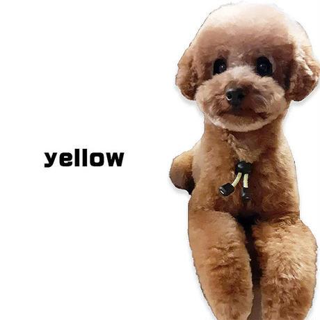 6カラー・3サイズでかわいい 愛犬も安心高輝度反射素材使用 犬用静電気軽減 静電気防止ネックレス 首輪 大型犬 65cm 静電気除去ys-pet-seidenki-65cm