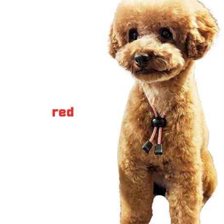 6カラー・3サイズでかわいい 愛犬も安心高輝度反射素材使用 犬用静電気軽減 静電気防止ネックレス 首輪 小型犬 35cm 静電気除去ys-pet-seidenki-35cm