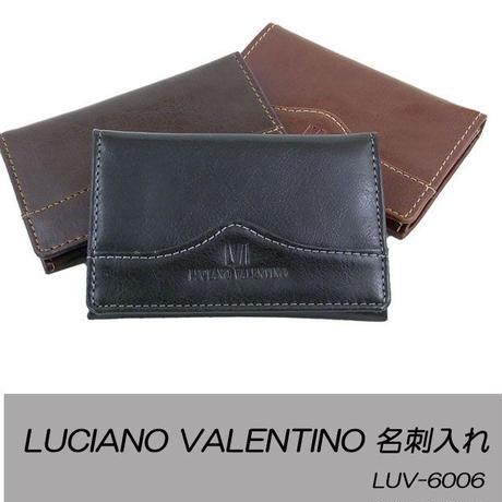 ルチアーノバレンチノ 牛革シャイニーダコタ 名刺入れ LUV6006