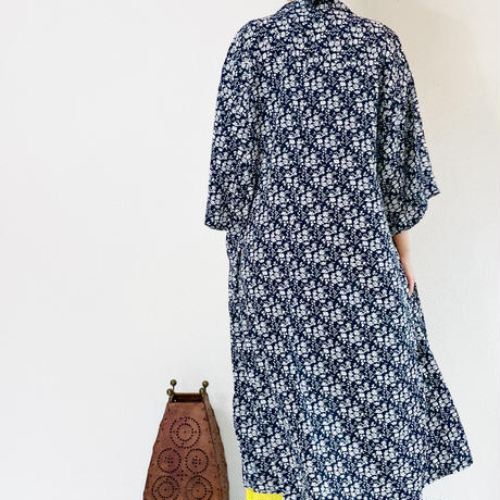 Soft long  jacket  / flower