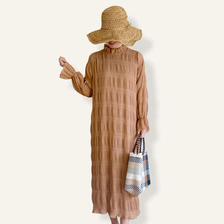 Majolica one-piece -beige-