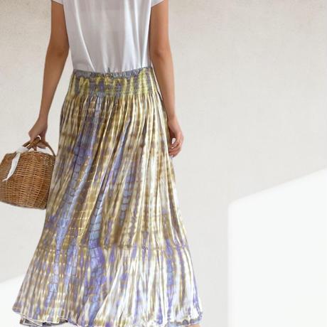 Tie-dye Tiered skirt