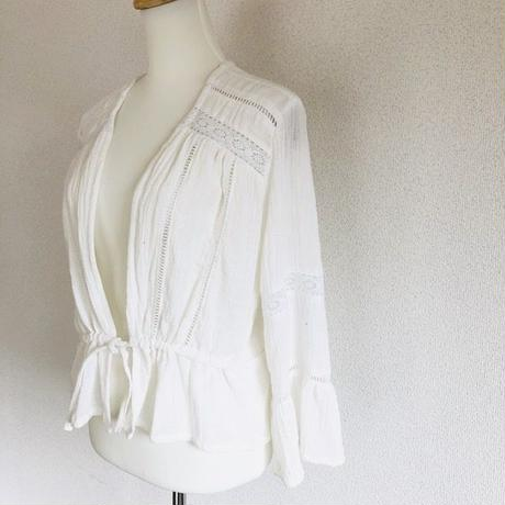 Lace Cardigan      White