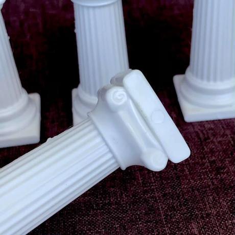 クリスタルグリッド用 神殿の柱 4本セット プラスチック製