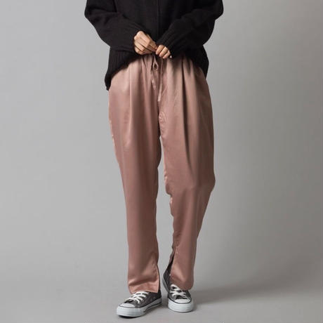 satin Tapered pants