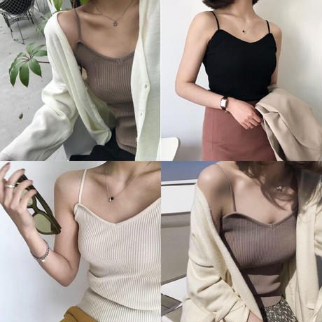 即納/lib camisole/3color