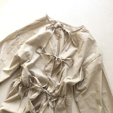 2way ribbon one-piece/ライトベージュ