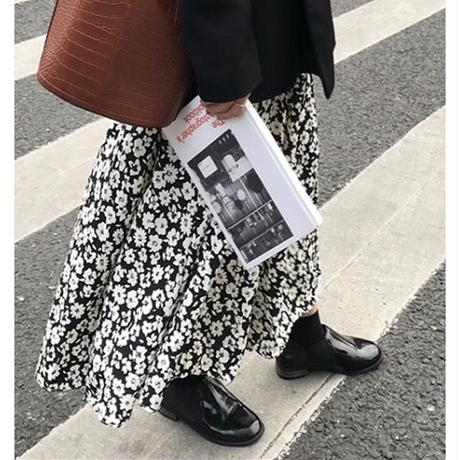 即納/flower mimole skirt