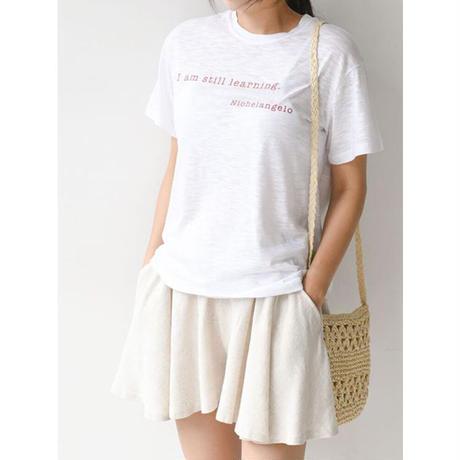 lettering T shirt