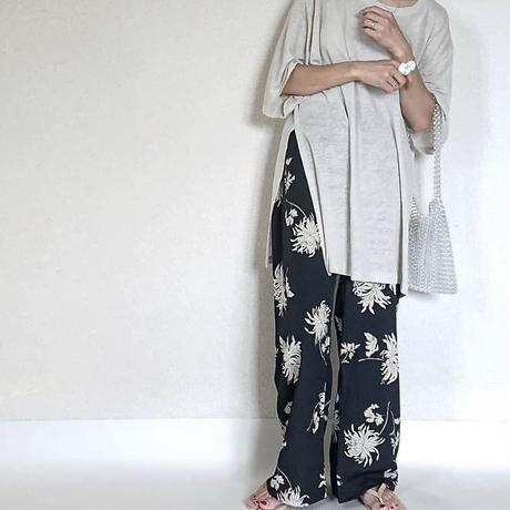 予約/flower print pants