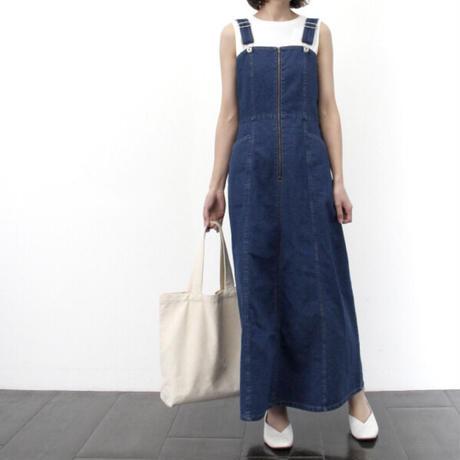 デニムジャンパースカート/ブルー