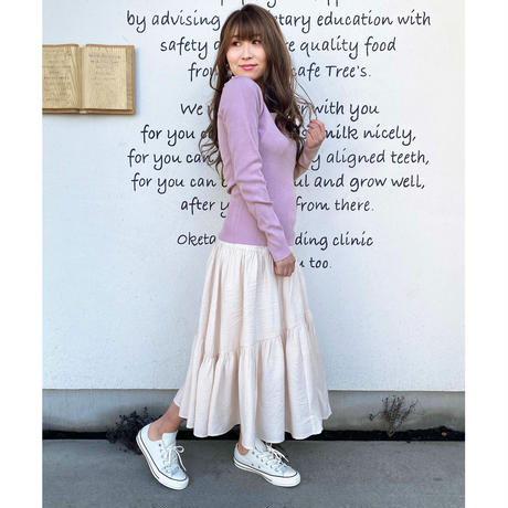 S/S tiard skirt