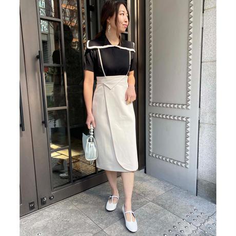 S/S shollder strap skirt