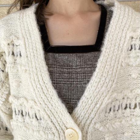 透かし編みボーダーCD