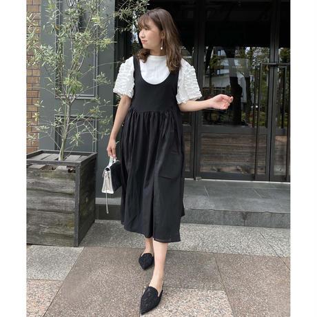 noir blanc jumper skirt