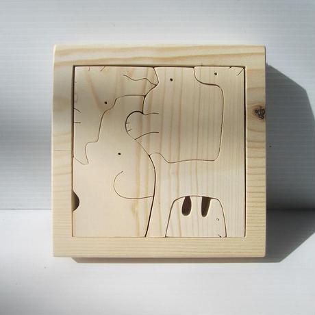 動物パズル (はじめてのどうぶつえん) 送料無料