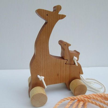 キリンの親子輪投げ (送料無料)