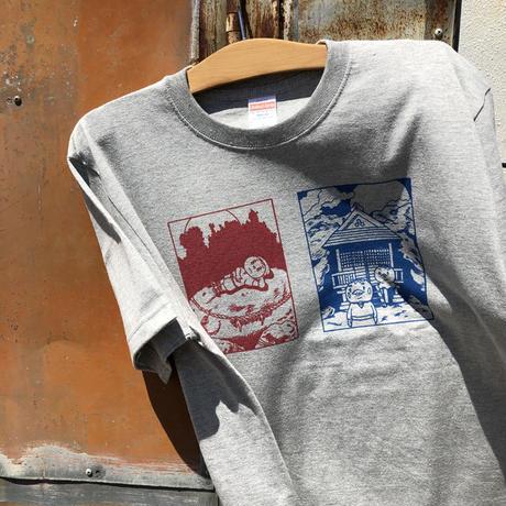 ふたつの月Tシャツ 【CD屋サマーグッズ2020】