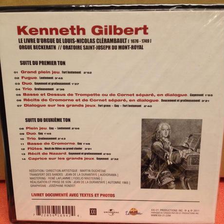 Kenneth Gilbert (organ)