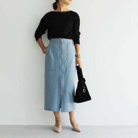 19awウールボックススカート