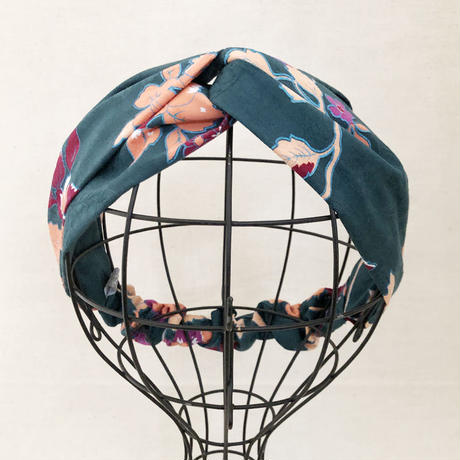 CROSS TURBAN /   American Fabric Flower