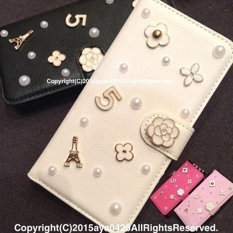 iPhone7、6/6S、5/5Sケース☆ココシャネル風◆ParisモチーフiPhoneケース