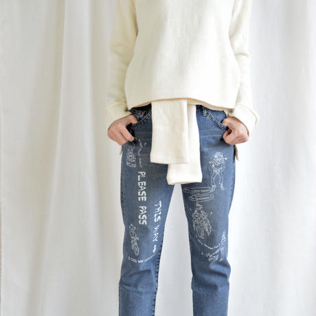 Painting  jeans