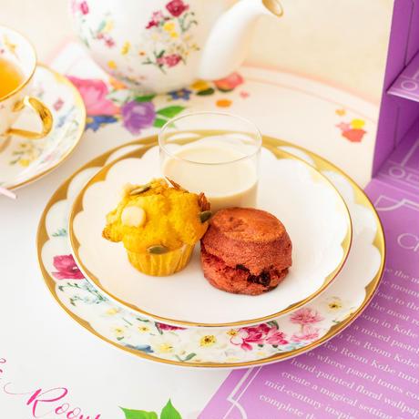 """数量限定""""スイーツ&セイボリー""""                          Zucca × Sweet Home Afternoon Tea Set  2名様(食材のみ)"""