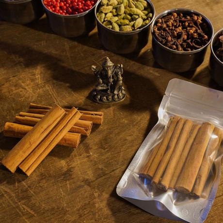 シナモンスティック5本【最高品質オーガニックシナモンスティック・スリランカ産】Organic cinnamon