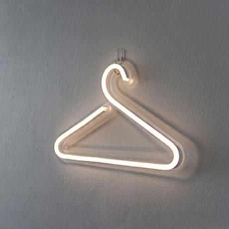 【ネオンライト】 ハンガー LED 寝室 お部屋 ネオンサイン 【店舗にも】
