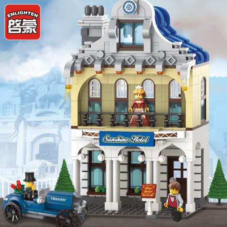 レゴ互換 サンシャインホテル 628ピース Sunshine Hotel LEGO風