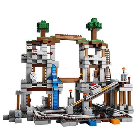 レゴ互換 マインクラフト 鉱山 マイン 21118 LEGO風